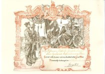 Image of Patrick Joseph Doyle's discharge certificate -
