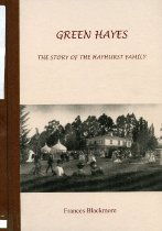 Image of Green Hayes : the story of the Hayhurst family - Blackmore, Frances
