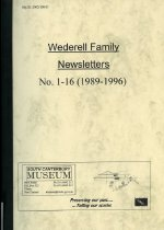 Image of Wederell family newsletters : No. 1-16 (1989-1996) - Wederell, Denis