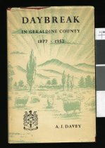 Image of Daybreak in Geraldine County, 1877-1952 : record of progress during seventy-five years under local government  - Davey, A J