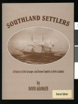 Image of Southland settlers : a history of the Granger and Brown families in New Zealand  - Granger, David