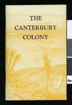 Image of The Canterbury colony : its site and prospects -