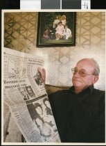 Image of Des Crowe - Timaru Herald Photographs, Personalities Collection