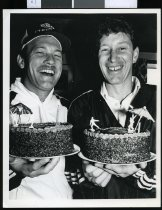 Image of Jeff Crowe and Stephen Boock - Timaru Herald Photographs, Personalities Collection