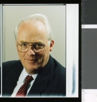 Image of CRC Chief Executive Dr Ian A Cumming - Timaru Herald Photographs, Personalities Collection