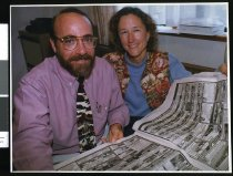 Image of Nathan and Arlene Currier - Timaru Herald Photographs, Personalities Collection