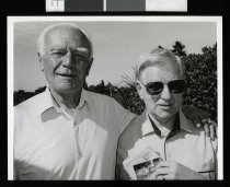 Image of Eric Lewis and Ron Curry - Timaru Herald Photographs, Personalities Collection