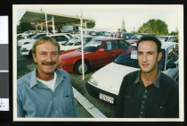 Image of Mike and Lincoln Darren - Timaru Herald Photographs, Personalities Collection