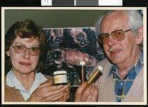 Image of Robert and Brenda Davidson - Timaru Herald Photographs, Personalities Collection