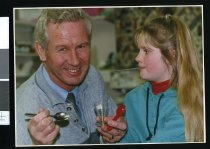 Image of Ray Davis and Jamie Bisset - Timaru Herald Photographs, Personalities Collection