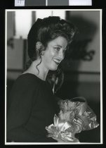 Image of Miss South Canterbury 1987 Louise Dellow - Timaru Herald Photographs, Personalities Collection