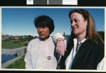 Image of Guusje De Schot and Jigme - Timaru Herald Photographs, Personalities Collection