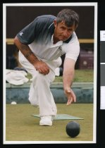 Image of Bowler Graham Devine - Timaru Herald Photographs, Personalities Collection