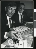 Image of Dick Dodd and Owen Potter - Timaru Herald Photographs, Personalities Collection