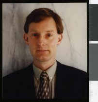 Image of Aoraki Christian Coalition candidate Robin Donovan - Timaru Herald Photographs, Personalities Collection