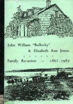 "Image of John William ""Bullocky"" & Elizabeth Ann Jones : Family Reunion - 1862-1987                                                                                                                         - Jones, Allan"