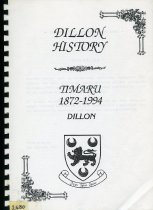 Image of Dillon history : Timaru 1872-1994 - Walsh, Peter M