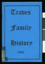 Image of A journey from Lincolnshire to South Canterbury 1874-1996 : Traves family history  - Traves, William John