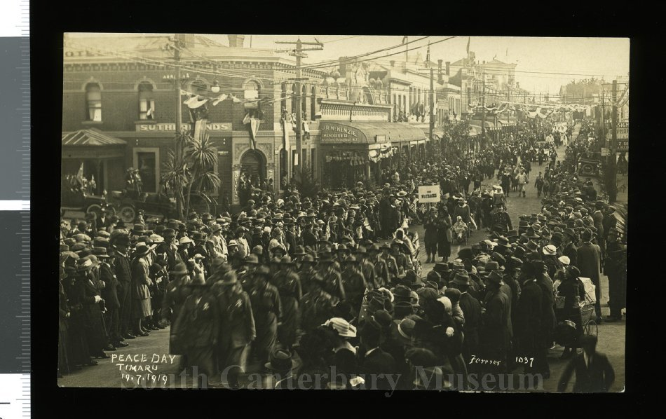 Peace Day Timaru 19.7.1919 [Ferrier 1037] - South Canterbury Museum