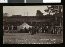 Image of Reception of the Canadian Cadets on the Bay Timaru -
