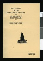 Image of Mackenzie of the Mackenzie Country : and, Mackenzie the sheep stealer  - Beattie, H. (Herries), 1881-1972