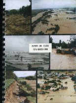 Image of Report on flood 13th March 1986 - Scarf, F