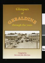 Image of Glimpses of Geraldine through the years - Morrison, Ian (ed.)