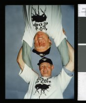 Image of Kevin Drummond of Waitohi & Doug Brown of Oamaru - Timaru Herald Photographs, Personalities Collection