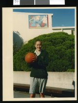 Image of Waimate High School student Tina Duff - Timaru Herald Photographs, Personalities Collection