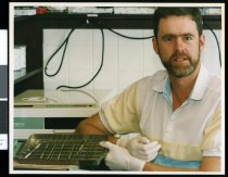 Image of Dentist Mark Easton - Timaru Herald Photographs, Personalities Collection