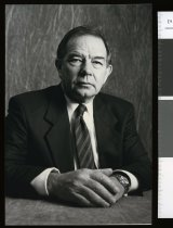 Image of W J (Bill) Falconer, chairman ACC - Timaru Herald Photographs, Personalities Collection