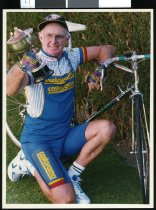 Image of Ian Falvey, cyclist - Timaru Herald Photographs, Personalities Collection
