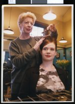 Image of Jenny Ferguson, hairdresser - Timaru Herald Photographs, Personalities Collection