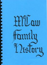 Image of McCaw family history - McCaw, Beverley N