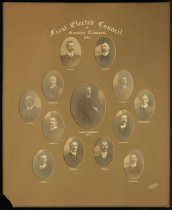 Image of First elected council of greater Timaru, 1911 -