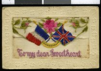 Image of Souvenir postcard, World War One -