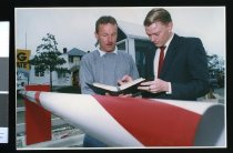 Image of Antoni Facey and Craig Harris - Timaru Herald Photographs, Personalities Collection