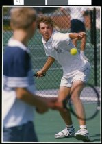 Image of Tennis player Simon Fifield - Timaru Herald Photographs, Personalities Collection
