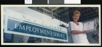 Image of New Zealand Employment Service's Denise Fink - Timaru Herald Photographs, Personalities Collection