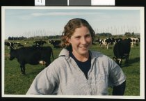 Image of Gemma Finlay, farm cadet - Timaru Herald Photographs, Personalities Collection