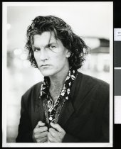 Image of Tim Finn, musician - Timaru Herald Photographs, Personalities Collection