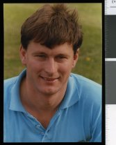 Image of David Fisher, cricketer - Timaru Herald Photographs, Personalities Collection