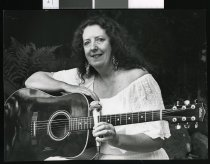 Image of Denise Fitzgerald, country singer - Timaru Herald Photographs, Personalities Collection