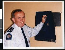 Image of Paul Fitzharris, Police Superintendent - Timaru Herald Photographs, Personalities Collection