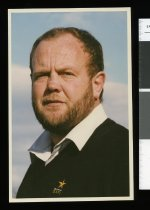 Image of Bruce Forrester, rugby coach - Timaru Herald Photographs, Personalities Collection
