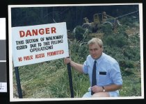 Image of Gary Foster - Timaru Herald Photographs, Personalities Collection
