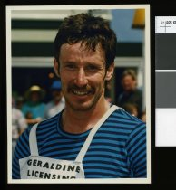 Image of Keith Foster, athlete  - Timaru Herald Photographs, Personalities Collection
