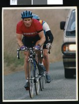 Image of Brian Fowler, cyclist - Timaru Herald Photographs, Personalities Collection