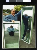 Image of Bruce Fraser and John Bisset - Timaru Herald Photographs, Personalities Collection