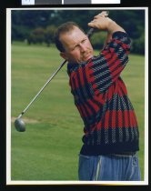 Image of Golfer Kevin Frazier - Timaru Herald Photographs, Personalities Collection